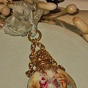 """~~~ Beautiful Antique French Poupee """" Flacon de Sels """" ~~~"""