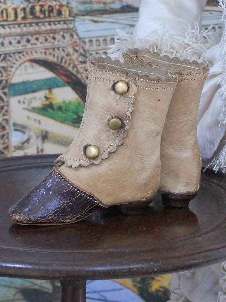 ~~~ Amazing French Fashion Boots / 1880 ~~~
