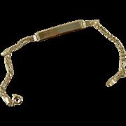 SALE Darling Baby Bracelet, 14k Yellow Gold