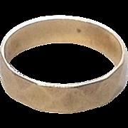 SALE PENDING Vintage 10K Gold Baby Ring ~ Faceted Pattern