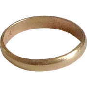 Antique 14K-1/20 Gold Baby Ring