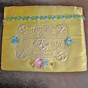 Vintage WW11 Hankie Holder - Hanky Sachet Envelope – Handkerchief Holder From a USA  Navy Sa