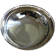 SOLD Vintage Swid Powell American Silver Plate Bowl - by Richard Meier - 20th Century