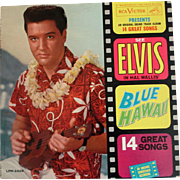SOLD Blue Hawaii – Elvis Presley – Original Sound Track Album - Orthophonic RCA