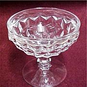 Vintage Fostoria - American Pattern Low Sherbet Glass