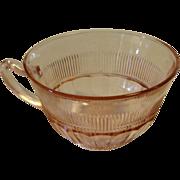Pink Depression Coronation Pattern Cup