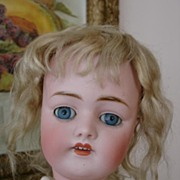 "REDUCED Fantastic 20"" Kestner 168 w/Original Wig and Clothing"