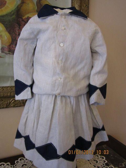 Great Edwardian Era Dress for Large Doll