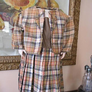REDUCED Wonderful 1880's Era Dress and Jacket