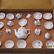 REDUCED Porcelain Child's Tea Set Made in Germany in Original Box