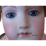 "SALE Gorgeous 18"" Portrait Jumeau Mature Lady Doll"