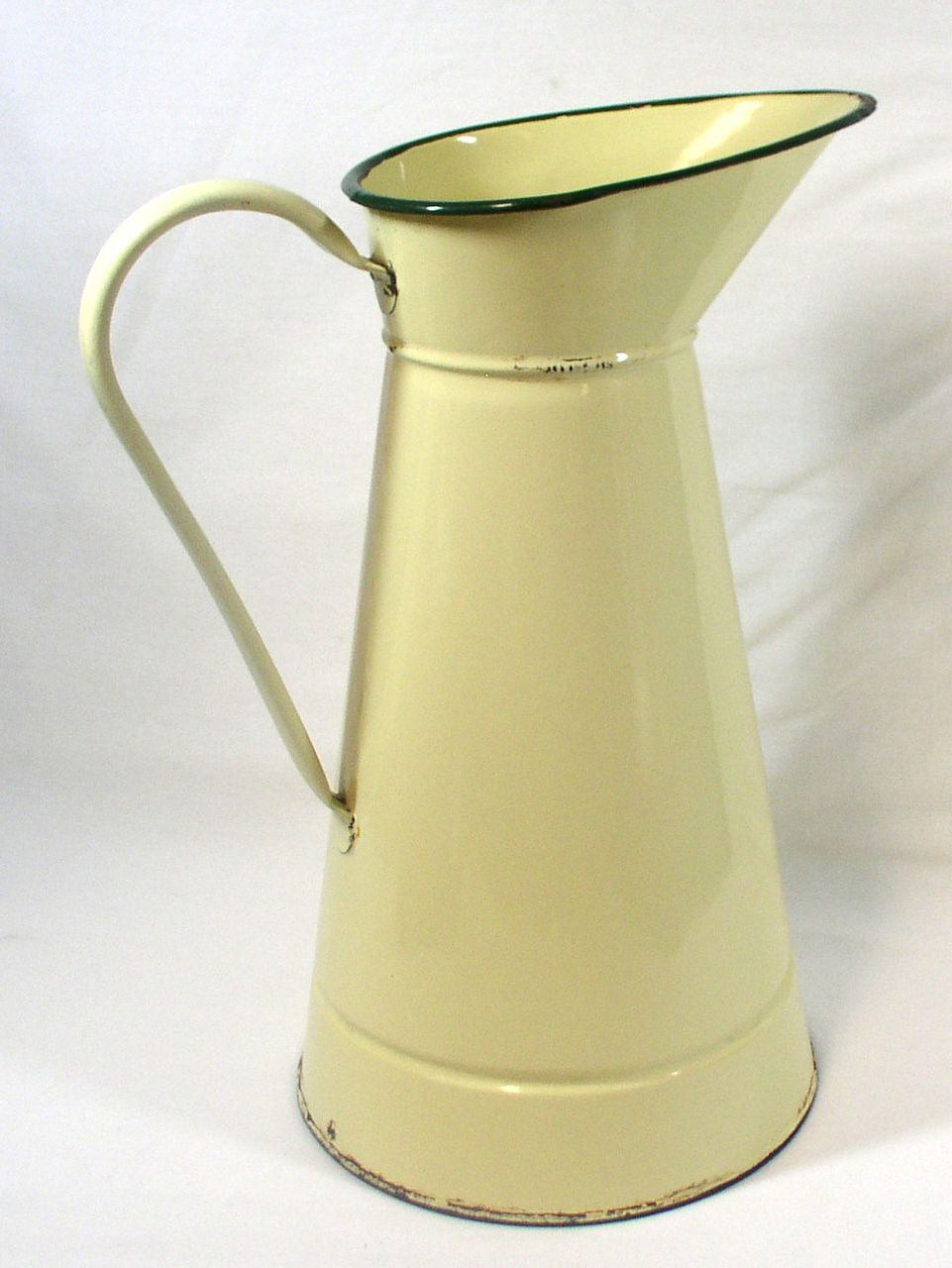 Large Enamel Water Jug European Enamel