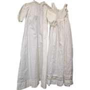 SALE Baby Christening Gown and under dress