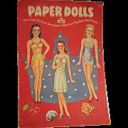 SALE Paper Dolls Beautiful Queens Whitman 1943