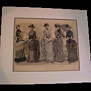 SALE Peterson Magazine Les Modes April 1884