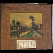 SALE 1932 Calendar Advertisement