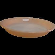 SALE Fire King Peach Lustre Pie Plate