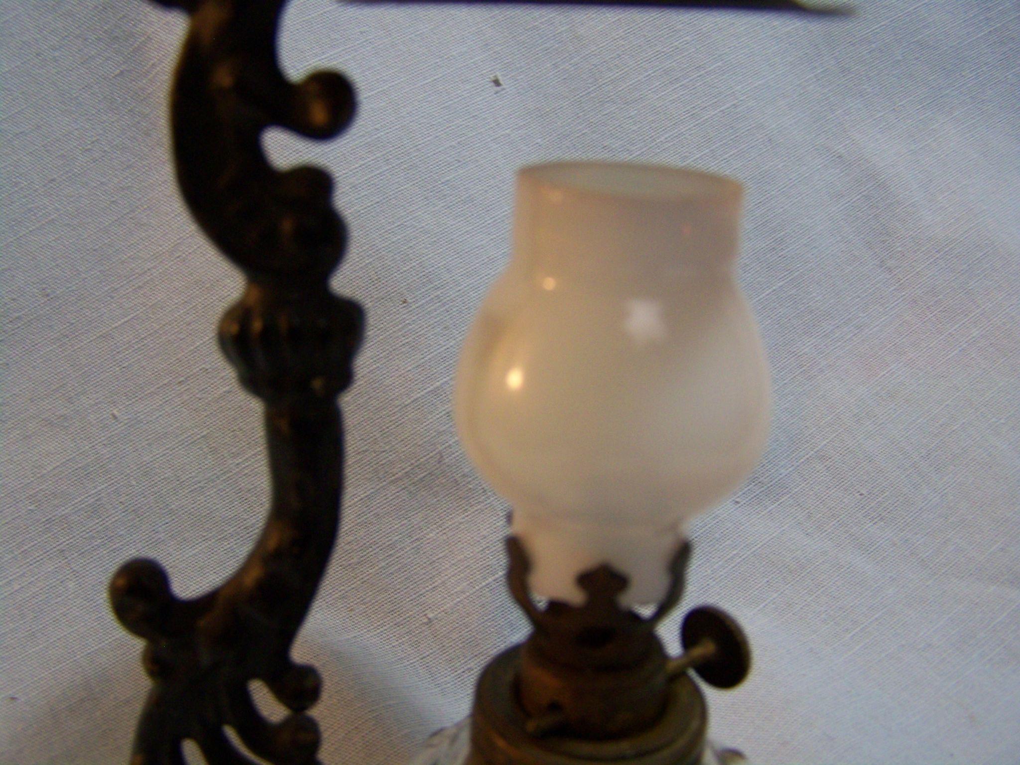 Vapo Cresolene Vaporizer Glass Lamp From Wings On Ruby Lane