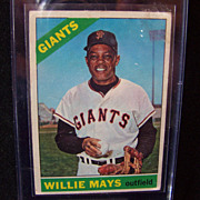 SALE 1966 Topps Willie Mays #1