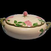 SALE Franciscan Desert Rose Serving Bowl with Lid