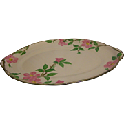 "SALE Franciscan Desert Rose Turkey Platter 19"""