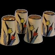 SALE Tulip Shakers Individual set of 4 Japan
