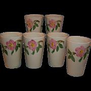 SALE Franciscan Desert Rose Tumblers Set of 6