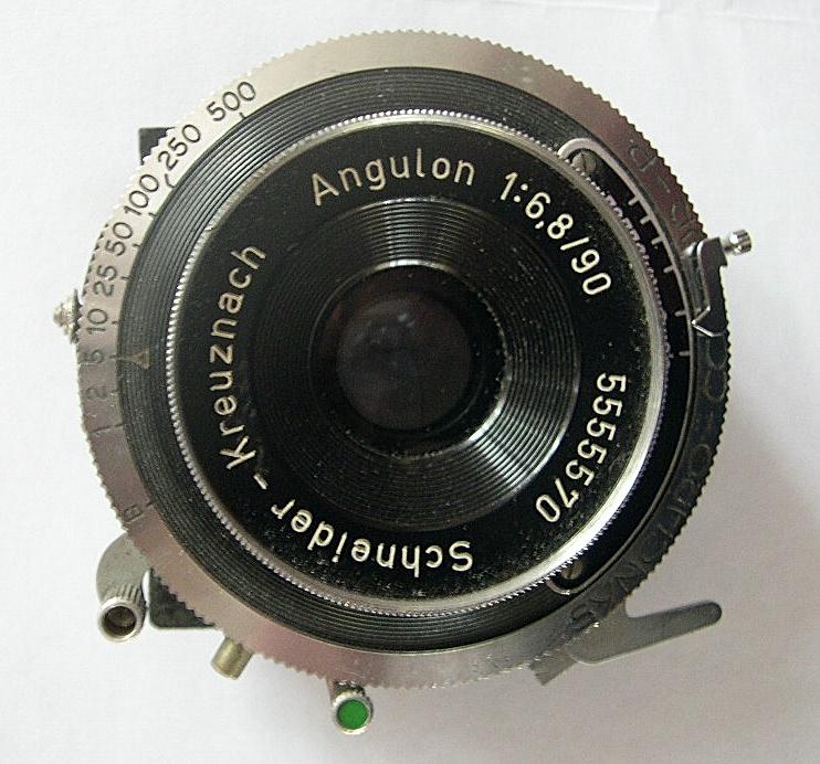 Schneider Angulon Wide Angle Lens and Shutter