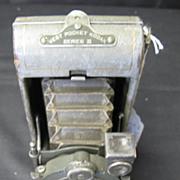 SOLD EKC Vanity Vest Pocket Series 111 Camera with Grey leather finish