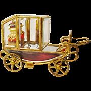 """SALE Grandest 10 ½"""" Antique Scent Coach Fit for a Queen!"""