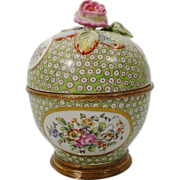 SOLD Magnificent Antique Sevres Style Porcelain and Bronze Box