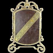 SALE Antique Vanity Top Tri Fold Mirror.