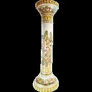 """39"""" Antique Capodimonte Pedestal """"RARE & WONDERFUL"""""""