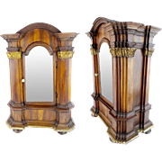 """SALE 1830 French Miniature Cabinet """"THE PERFECT PLACE FOR A TINY MINI COLLECTION"""""""