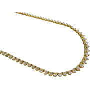 Magnificent 14KARAT Diamond Necklace
