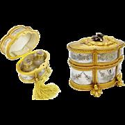 """Antique French Scent Casket 'FABULOUS SCENT BOTTLES"""""""
