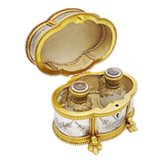 """SALE """"THE BEST"""" Magnificent Palais Royal Scent Casket"""