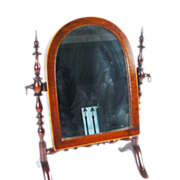 SALE Antique Miniature Doll  Dressing Mirror