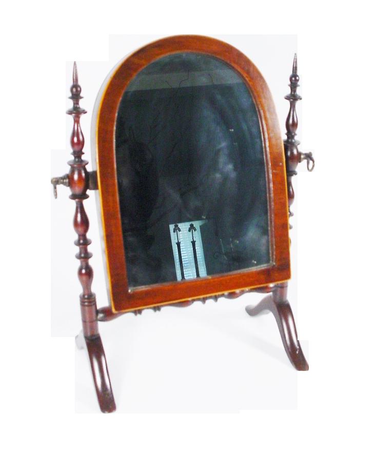 Antique Miniature Doll  Dressing Mirror