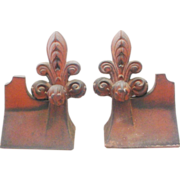 """SALE Rare Antique French Roof Tiles  """"PAIR"""""""