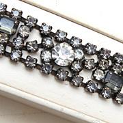 SALE Kramer Black Diamond Rhinestone Bracelet