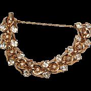 Crown Trifari Patent Pending Bracelet