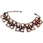 "Copper Bracelet 7-1/2"" to 9"""