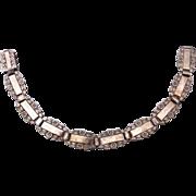 SALE Sterling Forget-Me-Not Bracelet