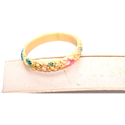 SALE Made in Japan Small Dyed Celluloid Bracelet