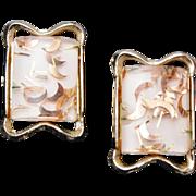 SALE PAM Confetti Lucite Earrings