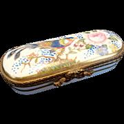 SALE Vintage Limoges France Porcelain Trinket Box