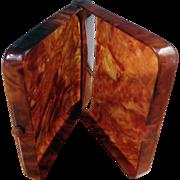 SALE Celluloid Faux Tortoise Shell Cigarette Case