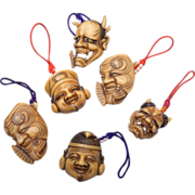 SALE Japanese Noh Masks and Gods