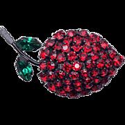SALE Made in Austria Fruit Brooch